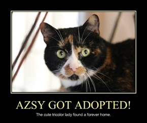 AZSY GOT ADOPTED!