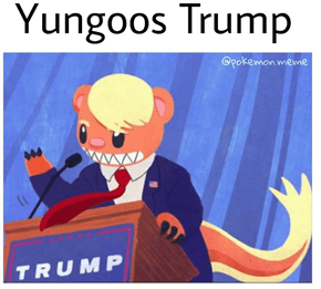 Yungoos Just Wants to Make the Alola Region Great Again!