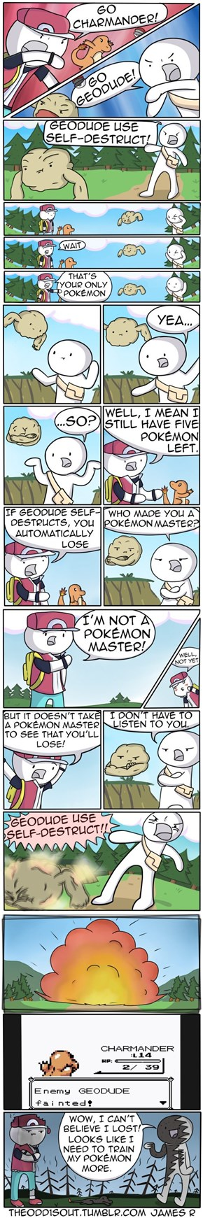 The Pinnacle of Pokémon Logic Comics Right Here!