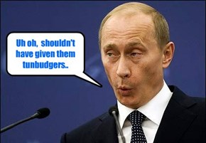 After being informed that Russia's track and field athletes will be banned from competing in the Rio Olympics because of state-sponsored doping, President Putin reacts..