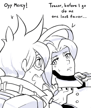 Mercy Had Enough of Her Team