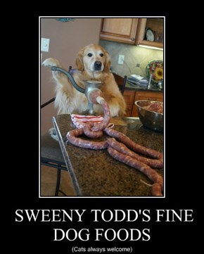 SWEENY TODD'S FINE DOG FOODS