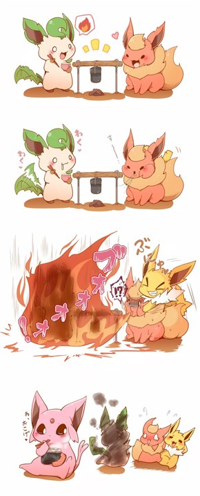 Jolteon, No!