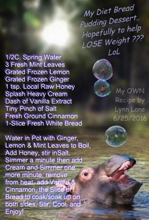 My OWN Recipe by Lynn Lane 6/25/2016