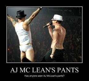 AJ MC LEAN'S PANTS