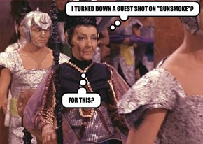 "I TURNED DOWN A GUEST SHOT ON ""GUNSMOKE""?"