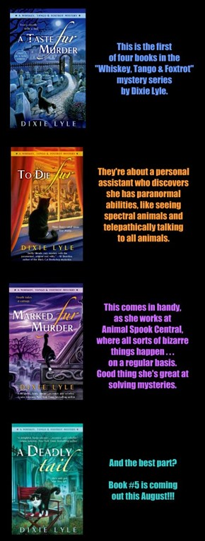 Animals, Ghosts, & Murder! What's not to love?