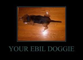 YOUR EBIL DOGGIE