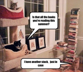 And I've only got nine books in my stack!