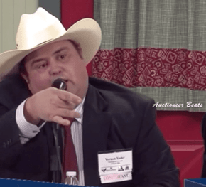 Finally, Fast Talking Auctioneers Get the Sick Beats They Deserve