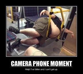 CAMERA PHONE MOMENT