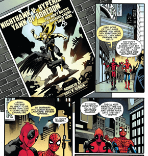 Spider-Man and Deadpool Firing off Some Hilarious Shots at Batman v Superman!