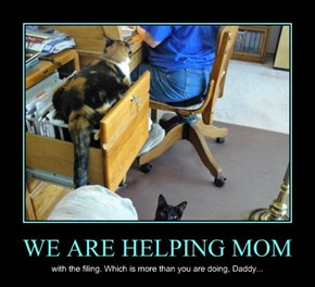 WE ARE HELPING MOM