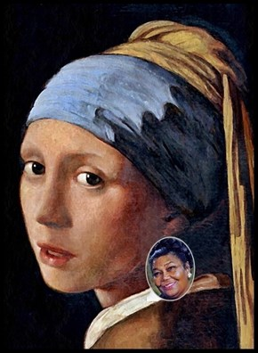 PUN:  Girl With A Pearl Earring