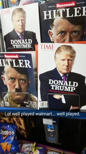 Walmart has no chill