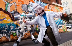 At Long Last, the Rick and Morty Cosplay We Truly Deserve