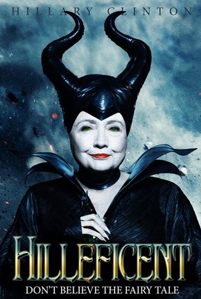 Hillary Clinton is Hilleficent!