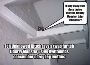 Unknowed Kittie vs. Library Monster part II