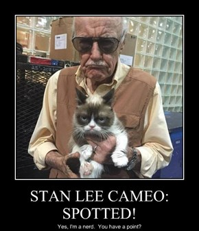 STAN LEE CAMEO:  SPOTTED!