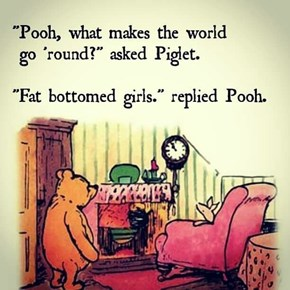 Winnie the Pooh Knows What's up With This Rockin' World