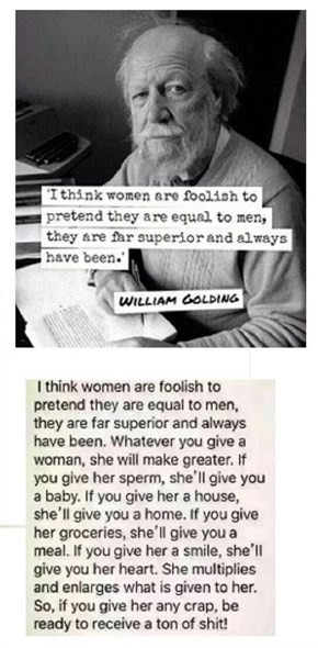 When People Say Women and Men Are Equal