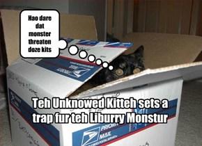 Unknowed Kitty vs. Liburry Monstur