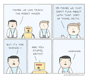 Well, at Least the Robot Learned Sass