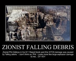 ZIONIST FALLING DEBRIS