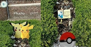 Guy Playing Pokémon GO Visits His Little Brother's Grave, and Finds His Brother's Favorite Pokémon Beside His Headstone