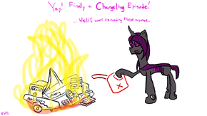 Yay... A Changeling Episode, Finally