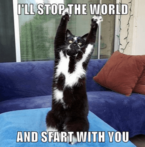 I'LL STOP THE WORLD   AND SFART WITH YOU