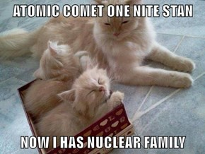ATOMIC COMET ONE NITE STAN  NOW I HAS NUCLEAR FAMILY