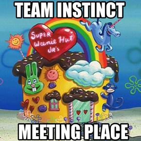 Team Instinct meeting place