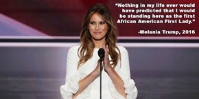 "The Internet Can't Stop Sharing These Famous Melania Trump ""Quotes"""