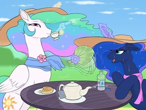 Lovely Weather for a Tea Party
