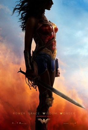 Gal Gadot Just Shared a New Wonder Woman Poster, and It's Better Than We Could've Hoped For
