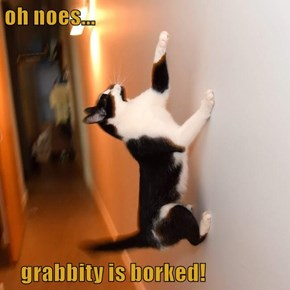 oh noes...      grabbity is borked!