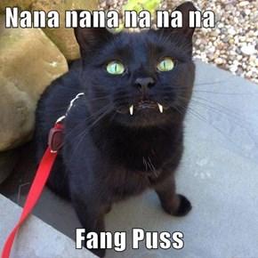 Nana nana na na na  Fang Puss