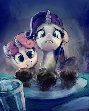 """I Made You Muffins, Rarity"""