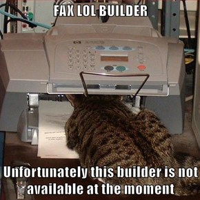 FAX LOL BUILDER  Unfortunately this builder is not available at the moment