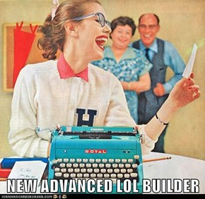 NEW ADVANCED LOL BUILDER