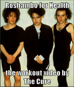 Roshambo for Health  the workout video by The Cure