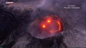 Kilauea Creates an Emoji