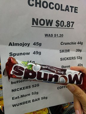 Sometimes You Feel Like a Spunow, Sometimes You Don't