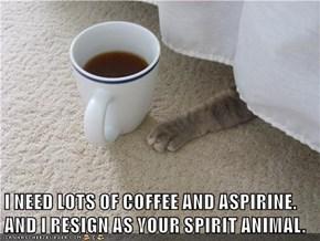 Yew are TOO spiritual...