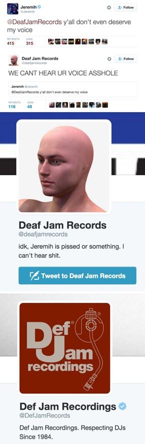 Deaf Jam Problems