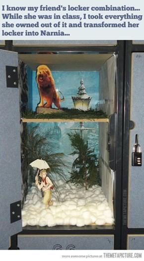 No Books Needed in Narnia