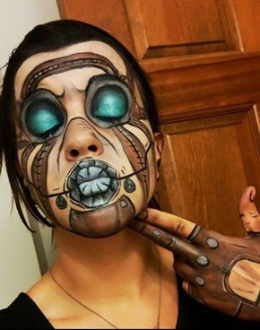 This Psycho Makeup's next Level!