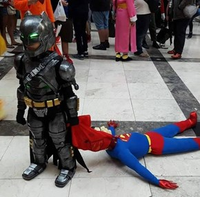 When the Kids' Cosplay Is On Point