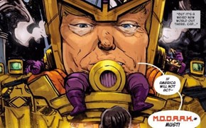 Marvel Artist Who Has a Burning Hatred for Donald Trump Made a Ridiculous Supervillain Inspired by the Guy